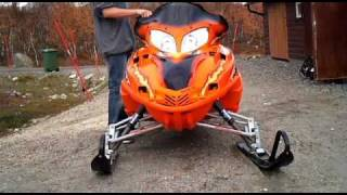 7. Arcticcat firecat 600 sno pro efi 2005 with rumble pack