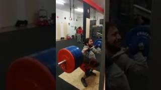 CrossFit 91100 - Front squat 150kg