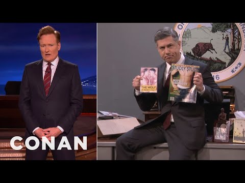 Indiana's Religious Freedom Czar Defends Its Anti-Gay Law  – CONAN on TBS
