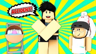 I WAS AN ACCIDENT?! Roblox Funny Moments! Roblox Trolling! Roblox Raise a Family Adopt Resort