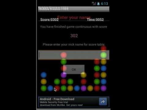 Video of Bubble Breaker Free