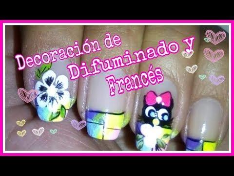 Modelos de uñas - DECORACIÓN DE UÑAS CON MUÑECOS FÁCILES