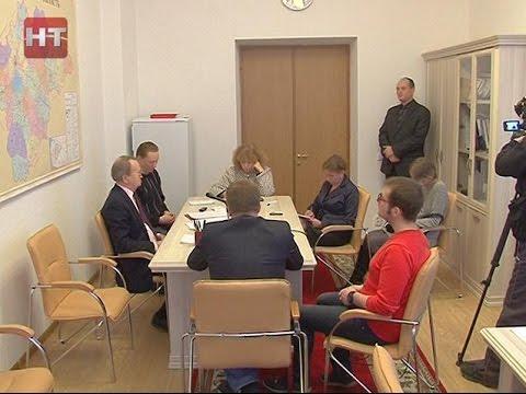 Отчет главы Парфинского района Николая Хатунцева получил отрицательную оценку