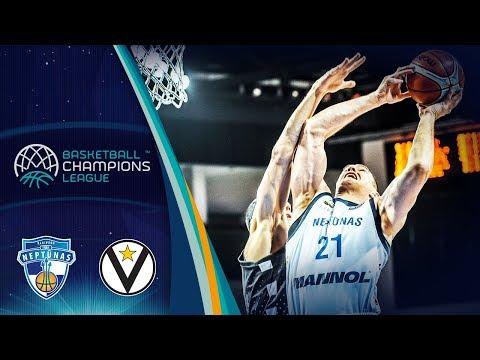 Virtus, gli highlights del match contro il Neptunas