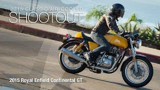 7. 2015 Royal Enfield Continental GT - Classic Bike Shootout Part 1 - MotoUSA