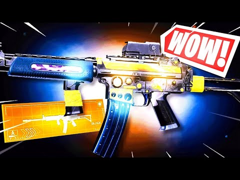 the NEW ELECTRIC AR in WARZONE! 😱 (NO RECOIL + OVERPOWERED)