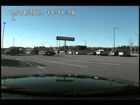 Wausau WI Police-Dashcam #1 Concealed carry motorist fends off attackers after road rage incident on Highway 29 west of Wausau 12-4-2012.