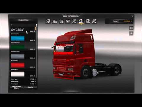 Red Devil Daf CF 1.18 - 1.21
