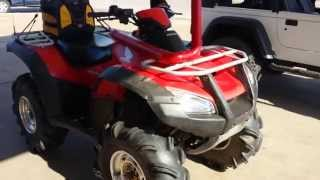 8. 2007 Honda rincon 680 review / start up