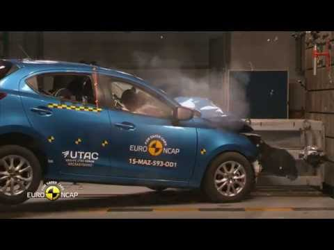 Euroncap test 2015 mazda2 4star