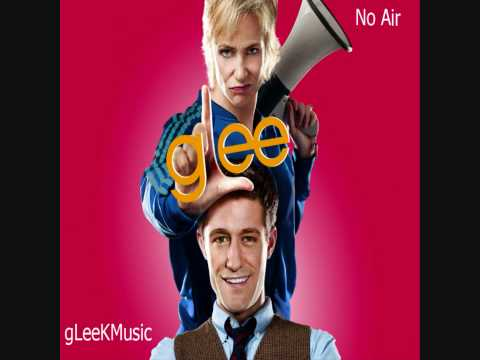 Tekst piosenki Glee Cast - No Air po polsku