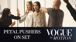 Video Vogue in Motion - Petal Pushers: EP 2 of 3 - Behind the Scenes of a Vogue Fashion Editorial Shoot MP3, 3GP, MP4, WEBM, AVI, FLV Agustus 2018