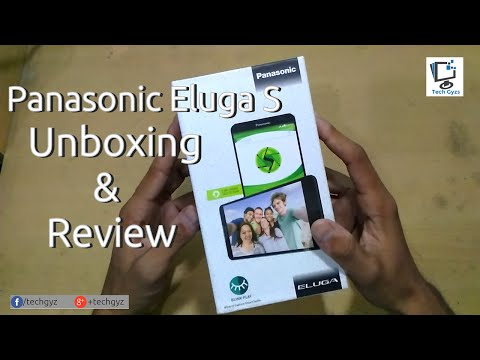 Panasonic Eluga S Unboxing and Review