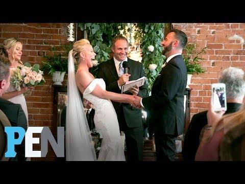 Inside Cancer Survivor & Sweet Valley High's Brittany Daniel's Wedding | PEN | Entertainment Weekly