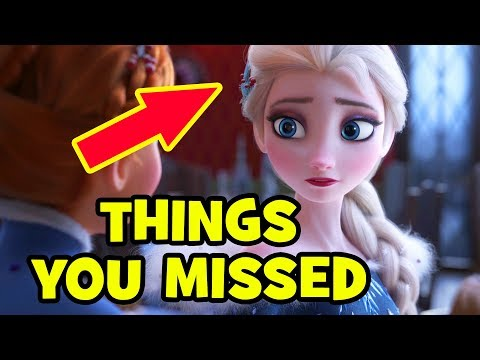 OLAF'S FROZEN ADVENTURE Trailer EASTER EGGS & Things You Missed