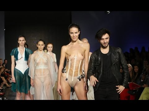 fashion - This video contains nudity Vancouver Fashion Week/ Spring:Summer 2014: Evan Clayton.
