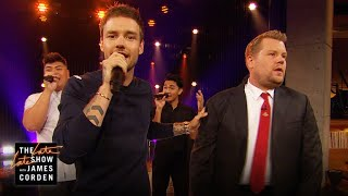 Video Boy Bands v. Solo Artists Riff-Off w/ Liam Payne MP3, 3GP, MP4, WEBM, AVI, FLV Mei 2018