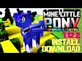 how to download and install mine little pony 1.12.2
