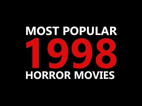 1998 - MOST POPULAR HORROR MOVIES