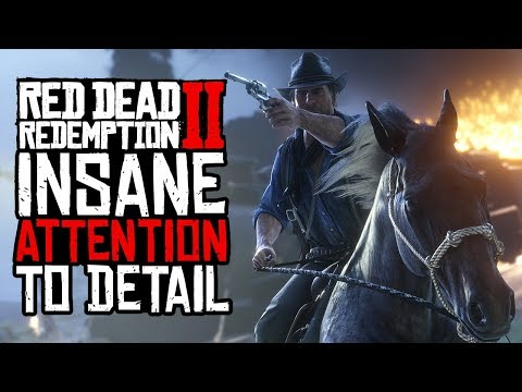 Red Dead Redemption 2: 49 Tiny Mind-Blowing Little Details