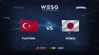 Fujitora vs Posesi, game 1
