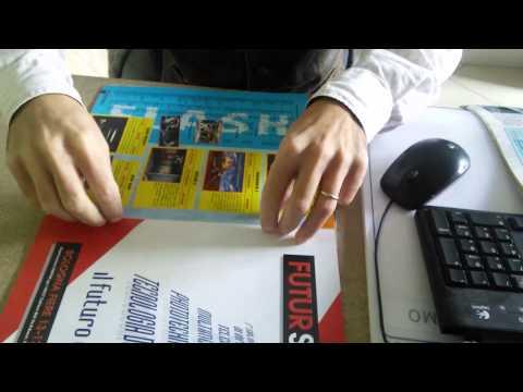 RetroEdicola Videoludica - Come preparare la rivista per la scan - rimettere le spille: parte 2