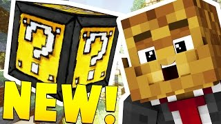 MINECRAFT EPIC LUCKY BLOCK RACE - INSANE LOOT AND MICROBATTLES