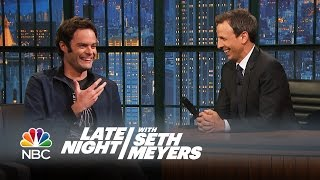 Video Bill Hader Reveals All the Things Seth Taught Him at SNL - Late Night with Seth Meyers MP3, 3GP, MP4, WEBM, AVI, FLV Desember 2018