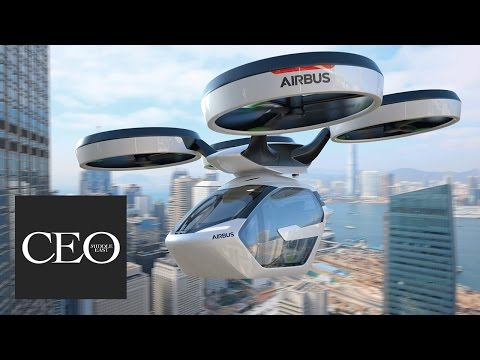 Airbus' crazy new flying car:  Introducing the Pop.Up car, in partnership with Italdesign