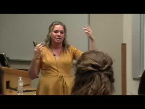 Dawn Hawkins at BYU Summit Against Human Trafficking.