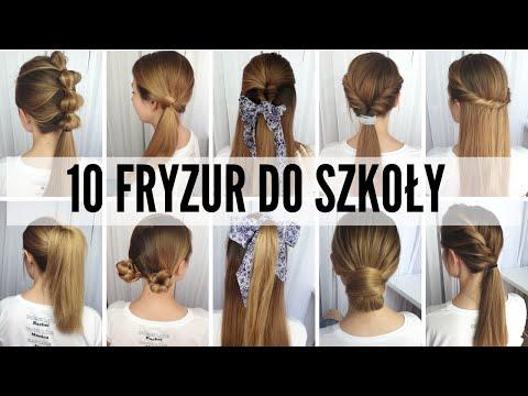 Proste fryzury do szkoły - 10 fryzur w mniej niż 5 min każda!