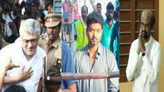 Video FULL VIDEO : Thala Ajith ,Vijay and Rajinikanth casting vote - Mass Moments | TN elections | MP3, 3GP, MP4, WEBM, AVI, FLV April 2019