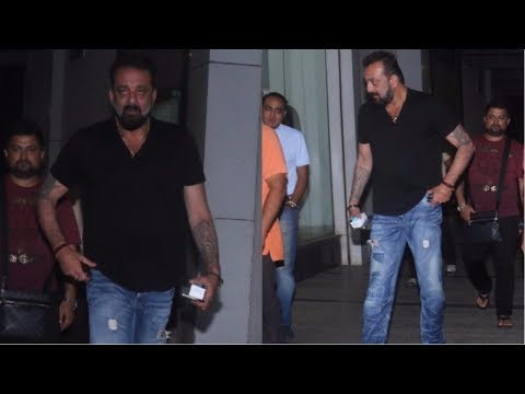 Sanjay Dutt At Karan Tyagi Wedding Anniversary Party