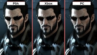Deus Ex: Mankind Divided Graphics Comparison PS4 vs. Xbox One vs. PC by IGN