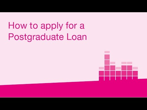 How to apply for a Postgraduate Loan