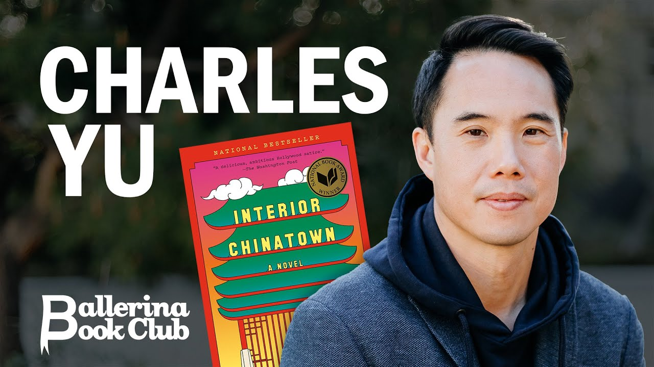 Charles Yu discusses 'Interior Chinatown' with ABT's Isabella Boylston | Ballerina Book Club