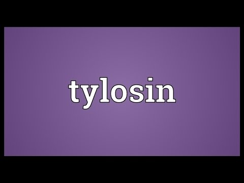 Tylosin Meaning