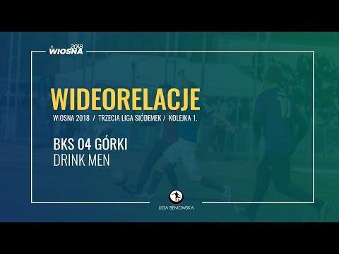 LIGA BEMOWSKA / WIOSNA 2018 / KOLEJKA 1. / BKS 04 GÓRKI - DRINK MEN