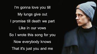 James Arthur - Say You Won't Let Go (Lyrics) (Leroy Sanchez Cover)