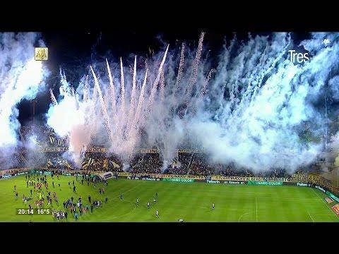 Recibimiento Rosario Central - Racing Club 2017 HD - Los Guerreros - Rosario Central - Argentina - América del Sur