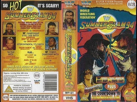 Video WWE (WWF) Summerslam 1994 Review || So Hot It's Scary|| Hart Family Drama Inside A Steel Cage! download in MP3, 3GP, MP4, WEBM, AVI, FLV January 2017