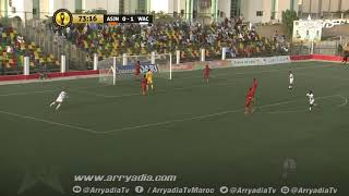 إفسي نواذيبو 0-2 الوداد الرياضي هدف إسماعيل الحداد في الدقيقة 74.