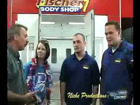Team Salute interview at Fischer Auto Body Shop