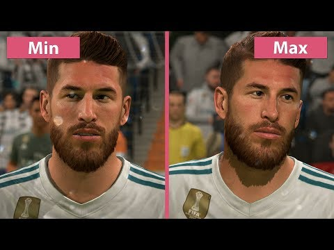 FIFA 18 – PC 4K Min Vs. Max Graphics Comparison
