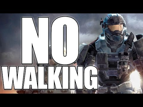 Beating Halo Reach WITHOUT Walking? (Halo Reach No Walking)