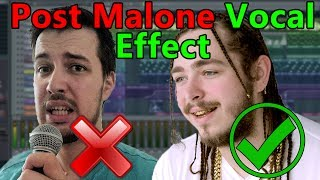 Video How to make VOCALS like Post Malone (if you can't sing) - FL Studio Tutorial download in MP3, 3GP, MP4, WEBM, AVI, FLV January 2017