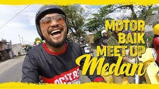 Video RIDING DI MEDAN MACET BANGET AMPUN! - MOTORBAIK MEET UP 2017 MP3, 3GP, MP4, WEBM, AVI, FLV Oktober 2018