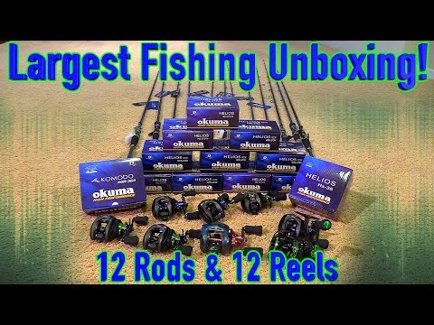 NEW Fishing Rods And Reels Unboxing!