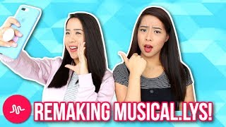 Samantha tries to recreate Madeleine's musical.lys! Madeleine's account: @madeleinexcSamantha's account: @samcaleonJoint Account: @caleontwinsRecreating musical.lys!☆ PO Box / Fan Mail (If you want to send us something):Caleon Twins119-2927 Lakeshore Blvd. WestToronto, ON M8V 1J3♡♡ FOLLOW US ON SOCIAL MEDIA ♡♡☆ Instagram: http://www.instagram.com/caleontwins☆ Twitter: https://www.twitter.com/TheCaleonTwins☆ Facebook: https://www.facebook.com/caleontwins/☆ Snapchat: caleontwins - https://www.snapchat.com/add/caleontwins☆ Musical.ly: @caleontwins  @madeleinexc @samcaleon☆ YouNow: www.younow.com/CaleonTwins☆ Shimmur: Caleon TwinsOur Faves:☆ PopSockets (Get $2 off): http://popsockets.refr.cc/VHBZ3HH☆ Because Of A Case - Phone Cases (Get 15% off) : http://www.becauseofacase.com?rfsn=289178.f2f8d*these are affiliate linksFAQ:What is your ethnicity? We are filipino! Born in the Philippines but raised in Canada!How old are you? We are 20!What do you use to edit: iMovie or Final Cut ProWhat Camera do we use? Canon T5i and Canon G7x (For vlogging)FOR BUSINESS INQUIRIES: caleontwins@gmail.comFTC: This video is not sponsored.