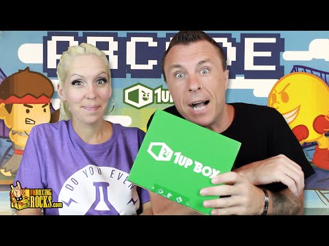 1UP BOX : June 2015 (Arcade) Unboxing Review